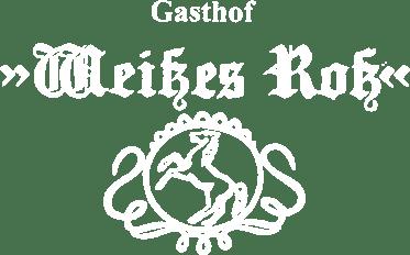 "Gasthof ""Weißes Roß"" - Logo"